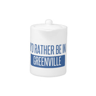 I'd rather be in Greenville NC