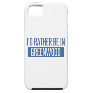 I'd rather be in Greenwood Case For The iPhone 5