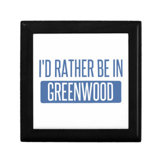 I'd rather be in Greenwood Gift Box