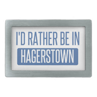 I'd rather be in Hagerstown Belt Buckles