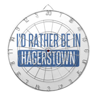 I'd rather be in Hagerstown Dartboard