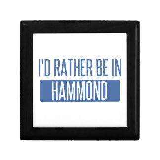 I'd rather be in Hammond Gift Box