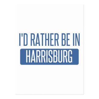 I'd rather be in Harrisburg Postcard