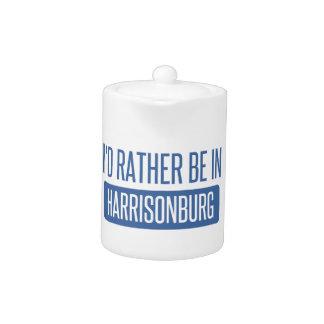 I'd rather be in Harrisonburg