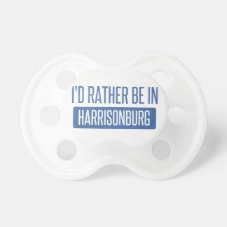 I'd rather be in Harrisonburg Dummy