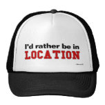 I'd Rather Be In... Hat
