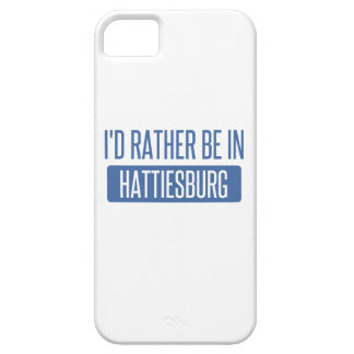 I'd rather be in Hattiesburg iPhone 5 Cases