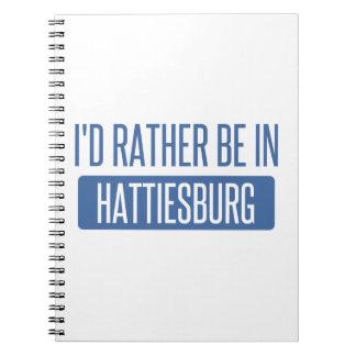 I'd rather be in Hattiesburg Spiral Notebook