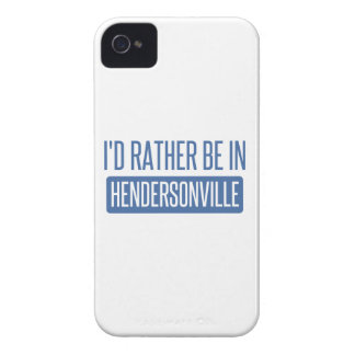 I'd rather be in Hendersonville iPhone 4 Case-Mate Case