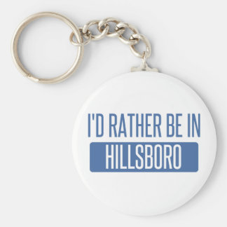 I'd rather be in Hoboken Key Ring