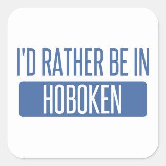 I'd rather be in Hoffman Estates Square Sticker