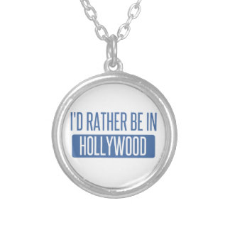 I'd rather be in Holyoke Silver Plated Necklace