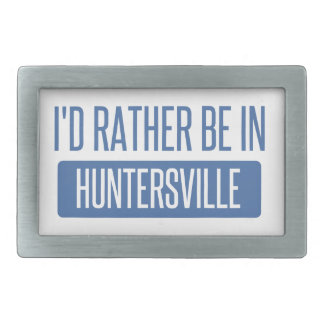 I'd rather be in Huntersville Belt Buckles