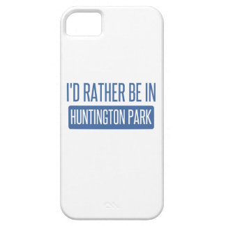 I'd rather be in Huntington Park iPhone 5 Case