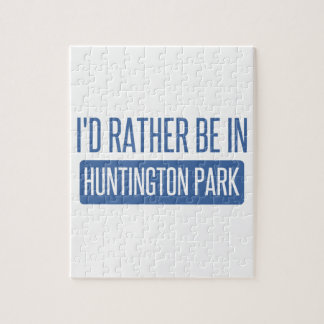 I'd rather be in Huntington Park Jigsaw Puzzle