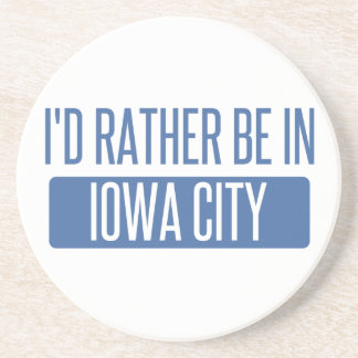 I'd rather be in Iowa City Coaster