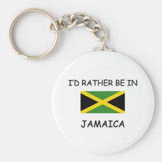 I'd rather be in Jamaica Key Ring