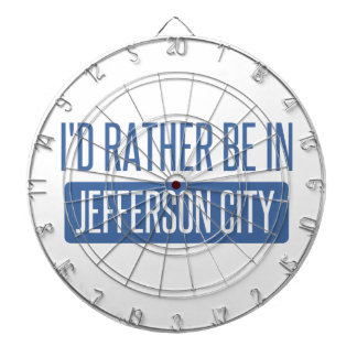 I'd rather be in Jefferson City Dartboard