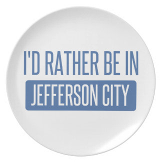 I'd rather be in Jefferson City Plate