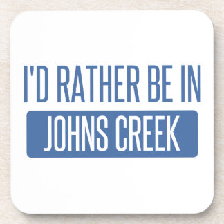 I'd rather be in Johns Creek Coaster