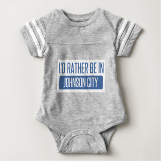 I'd rather be in Johnson City Baby Bodysuit