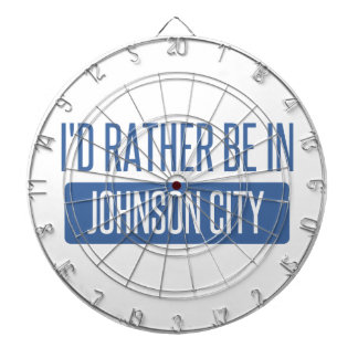 I'd rather be in Johnson City Dartboard