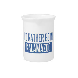 I'd rather be in Kalamazoo Pitcher