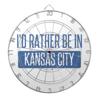 I'd rather be in Kansas City KS Dartboard