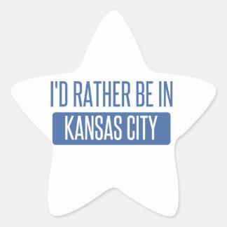 I'd rather be in Kansas City KS Star Sticker