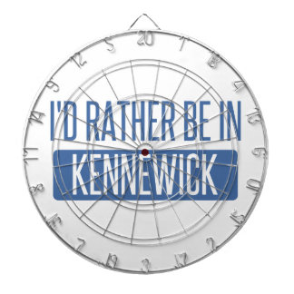I'd rather be in Kennewick Dartboard