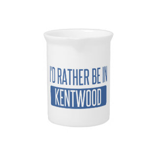 I'd rather be in Kentwood Drink Pitcher