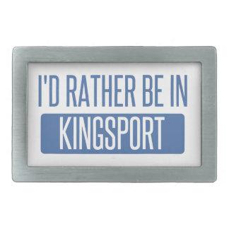 I'd rather be in Kingsport Belt Buckles