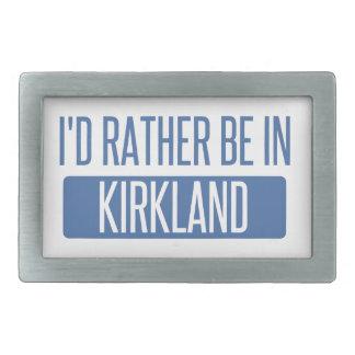 I'd rather be in Kirkland Belt Buckle