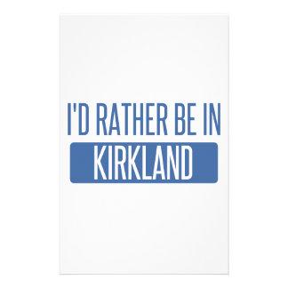 I'd rather be in Kirkland Stationery