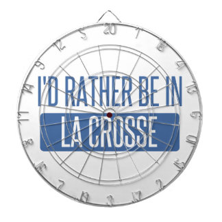 I'd rather be in La Crosse Dartboard