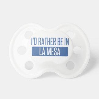 I'd rather be in La Mesa Dummy