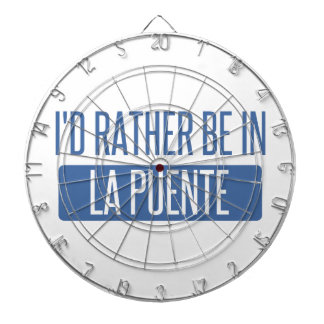I'd rather be in La Puente Dartboard
