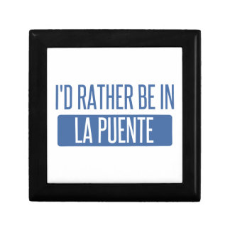 I'd rather be in La Puente Gift Box