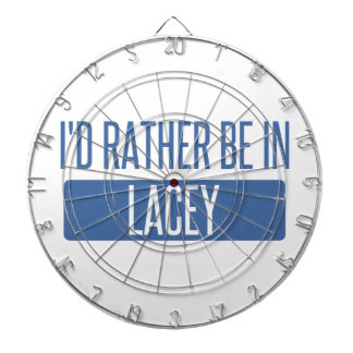 I'd rather be in Lacey Dartboard