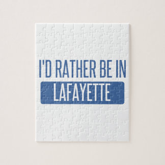 I'd rather be in Lafayette LA Jigsaw Puzzle