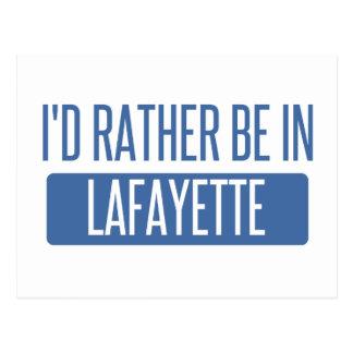 I'd rather be in Lafayette LA Postcard