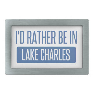 I'd rather be in Lake Charles Belt Buckle