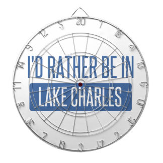 I'd rather be in Lake Charles Dartboard