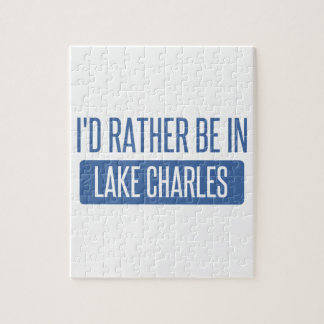 I'd rather be in Lake Charles Jigsaw Puzzle