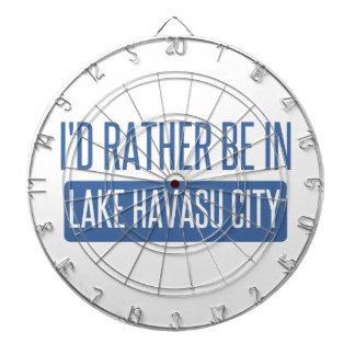 I'd rather be in Lake Havasu City Dartboard