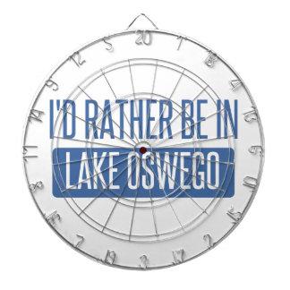I'd rather be in Lake Oswego Dartboard