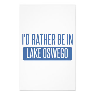 I'd rather be in Lake Oswego Stationery