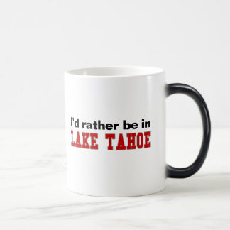 I'd Rather Be In Lake Tahoe 11 Oz Magic Heat Color-Changing Coffee Mug