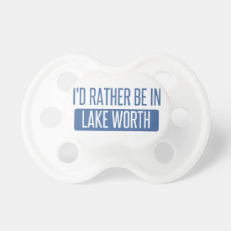 I'd rather be in Lake Worth Dummy