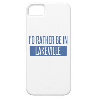 I'd rather be in Lakeville iPhone 5 Cases